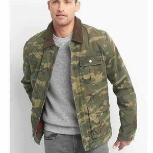 GAP Camo Field Jacket/Coat